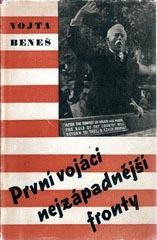 Obálka knihy o působení Vojty Beneše ve druhém odboji z roku 1946