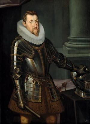 Nesmlouvavý katolík český král a od roku 1619 císař Ferdinand II.