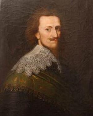 Plukovník Kristián mladší kníže z Anhaltu-Bernburgu, jehož útok téměř zvrátil průběh bitvy.