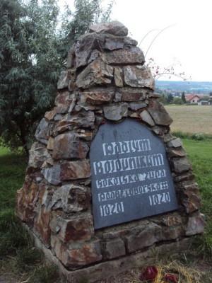 Památník bitvy na nejvyšším místě Bílé hory