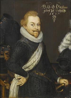 Stavovský generalissimus Kristián starší kníže z Anhaltu-Bernburgu