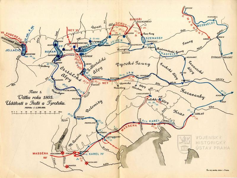 BUBLA, Jindřich. Kapitoly z válečných dějin. sešit 6, Válka roku 1805