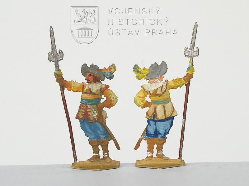 Důstojníci pěchoty, kolem 1632