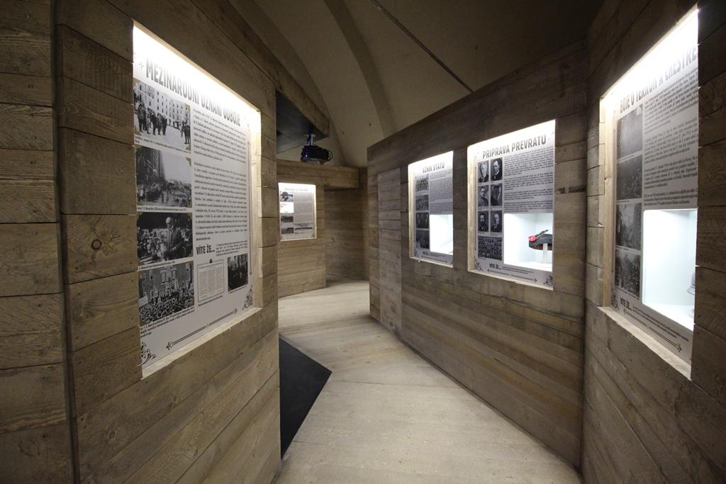 Cesta legionáře – stálá výstava na hradě Křivoklát