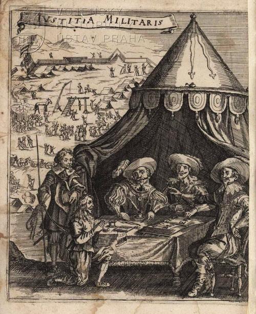 PAPPUS VON TRATZBERG, Petrus. Holländisch Kriegs-Recht, Vnd Artickels-Brieff … Da zu End beygefügt, Keyser Maximiliani II. Artickels-Brieff