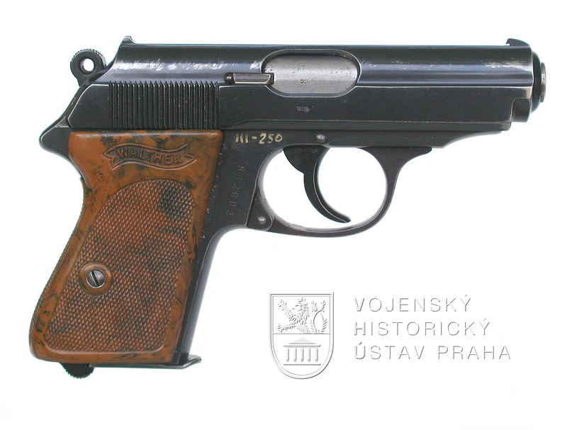 Německá pistole Walther PPK