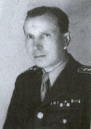 Reicinův hlavní pomahač, brigádní generál Josef Musil. Stejně jako Reicin, i on skončil na popravišti.