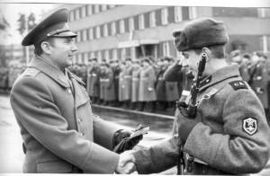 Poslední velitel sovětských vojsk v ČSSR generál Vorobjov. Foto sbírka VHÚ.