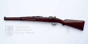 Srbská karabina Mauser vzor 1908