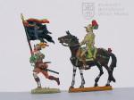 Praporečník a těžkooděný jezdec, druhá polovina 16. století
