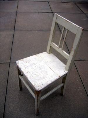 Jedna z židlí po restaurování. FOTO: Petr Moudrý