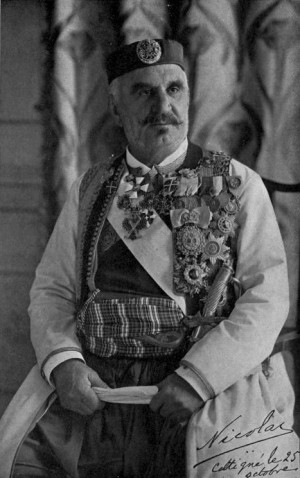 Černohorský král Nikola I. Petrović-Njegoš