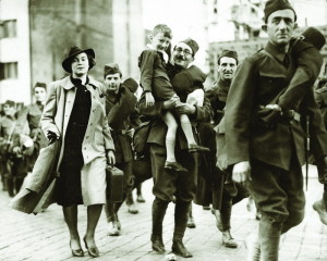 Po mnichovské zradě politiky zrazené občany v uniformách mohli potupy zbavit jen vojáci.