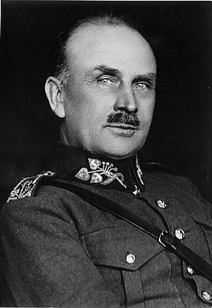 První velitel Obrany národa generál Josef Bílý
