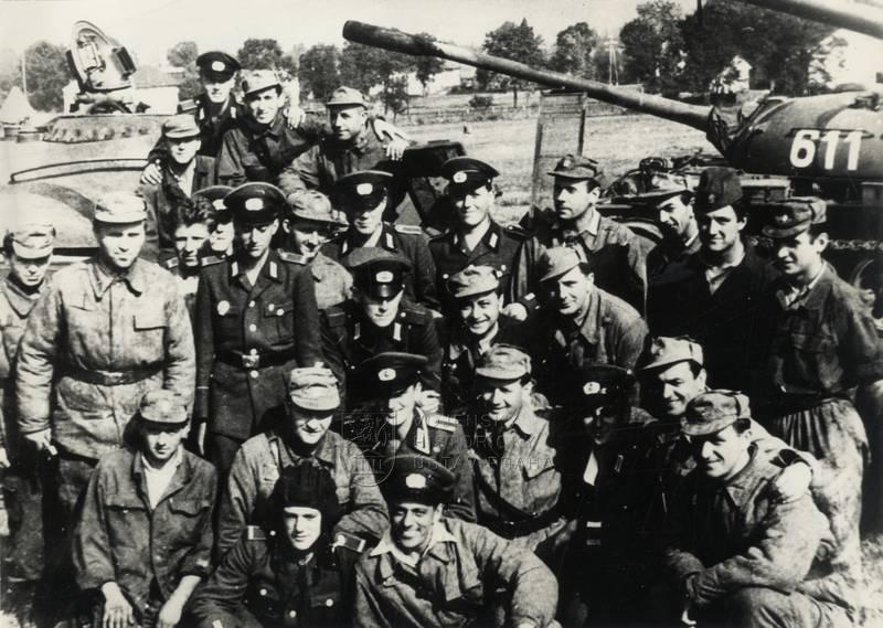 """Cvičení Varšavské smlouvy """"Vítr"""" v září 1962"""