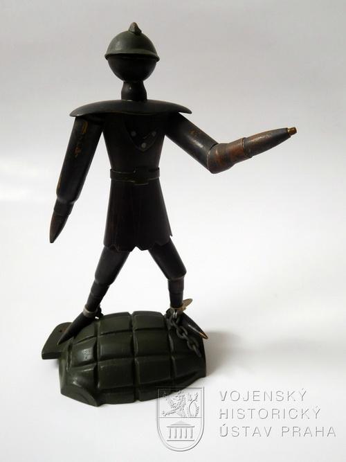 Alegorická soška bojovníka