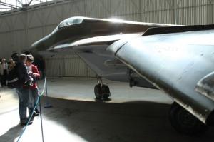 MiG-29, nový přírůstek do sbírek VHÚ v hangáru č. 40