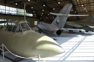 Příď letounu Pe-2