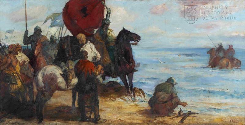 Radomír Kolář, Husité na Baltu, 1954