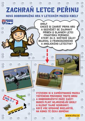 Nová dobrodružná hra v Leteckém muzeu Kbely