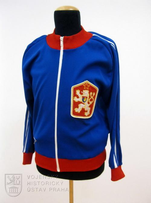 Sportovní bunda, ČSSR, 80. léta