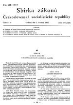Co vše přinesl v roce 1961 zákon o obraně ČSSR
