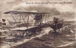 Potopení ponorky Foucault, světové prvenství rakousko-uherských námořních aviatiků