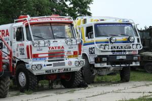 Dakarská tatrovka a liazka