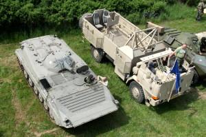 Bojové vozidlo pěchoty a Tatra 815 SOT-3