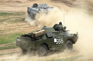 BRDM-1 a bojové vozidlo pěchoty