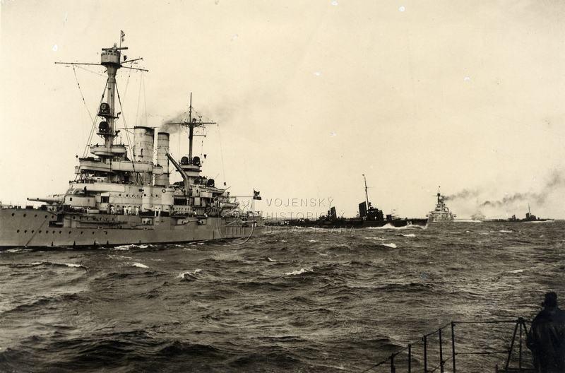 Manévry německého loďstva na Baltu