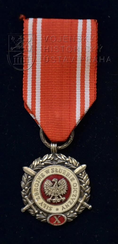 Medaile ozbrojených sil za službu vlasti, 2. stupeň
