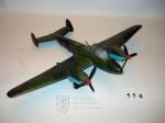 Model sovětského středního bombardéru PETLJAKOV  Pe – 2