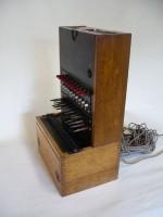 """Restaurování telefonní ústředny """"Signlapp"""" výr. č. 29427"""