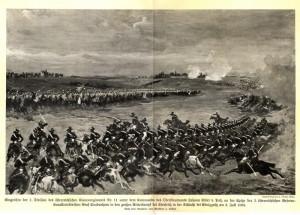 Útok rakouského jezdectva