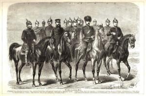 Pruští vojevůdci války roku 1866.