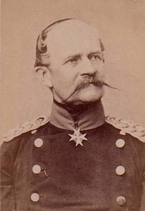 Pruský generál jezdectva August princ Württemberský.