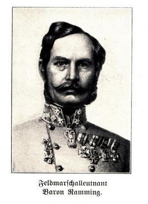 Polní podmaršál Wilhelm Ramming z Riedkirchenu.
