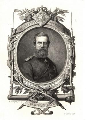 Korunní princ Friedrich Wilhelm Pruský.