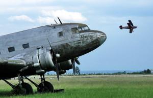 Ukázka historických letounů ze sbírek VHÚ