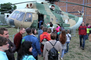 Pražská muzejní noc v Leteckém muzeu Kbely