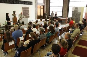 Vyhlášení hry Tajemství vojenského kufříku a Muzeum v krabičce v Armádním muzeu Žižkov