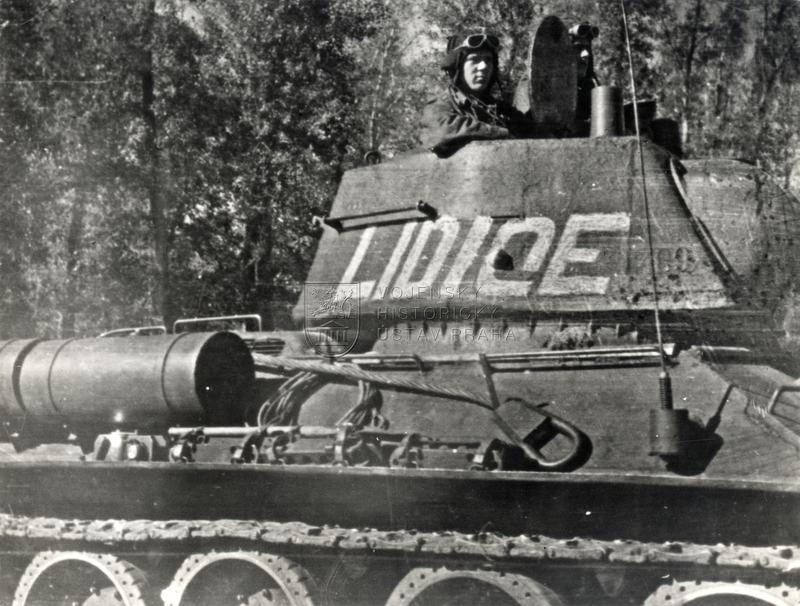 "Tank T-34/76 vz. 1943 ""Lidice"""