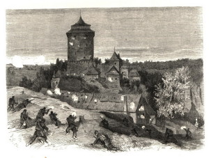 Noční boj o hrad Kost