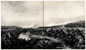Útok rakouského jezdectva v bitvě u Svinišťan 29. června