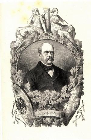 Otto von Bismarck (1. 4. 1815 – 30. 7. 1898). Železný kancléř nově ustanoveného Německého císařství stál v čele německé diplomacie až do roku 1890, kdy byl nucen odstoupit pro spory s mladým císařem Vilémem II. (korunován 1888)
