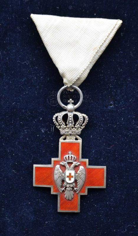 Kříž Společnosti Červeného kříže Srbského království