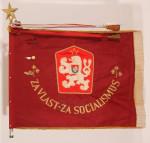 Bojová zástava 68. střeleckého pluku ČSLA