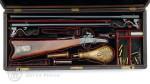 Karabina Maynard, 1. model s výměnnými hlavněmi a kazetou s příslušenstvím