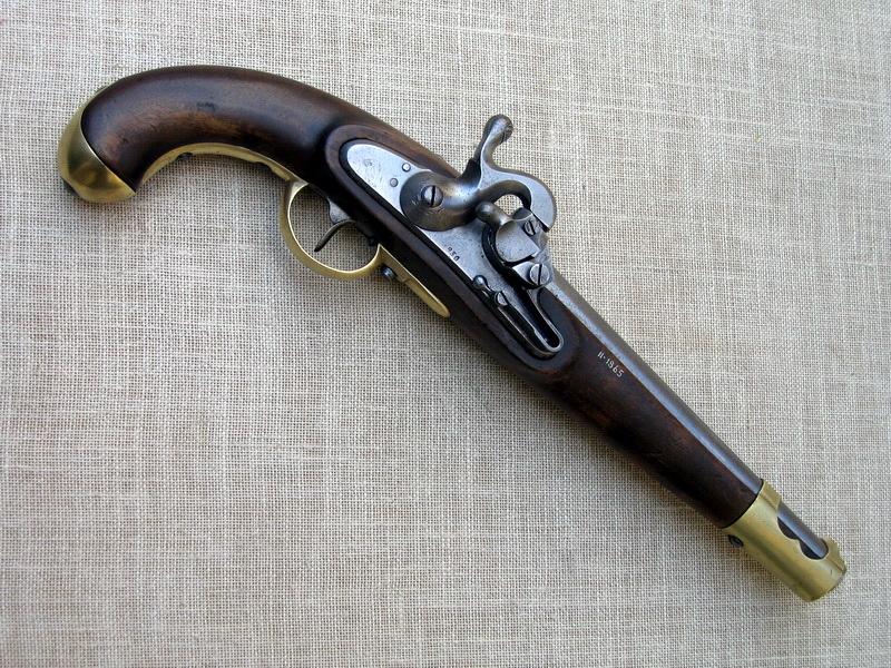 Restaurování rakouské pistole s válečkovou roznětkou